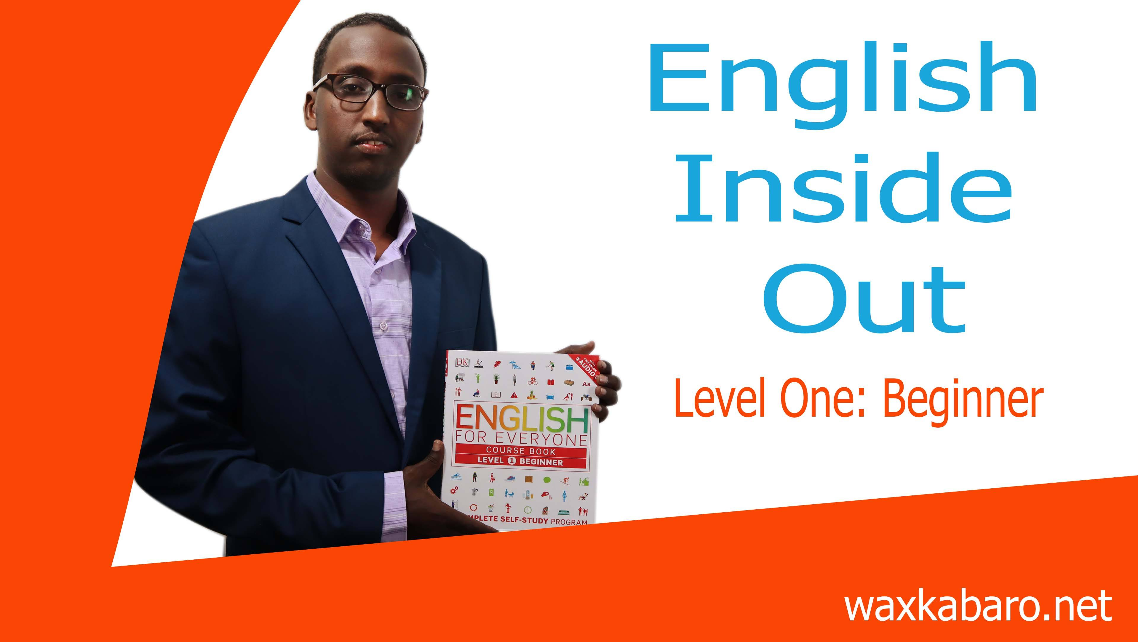 English Inside Out – Level one  Beginner