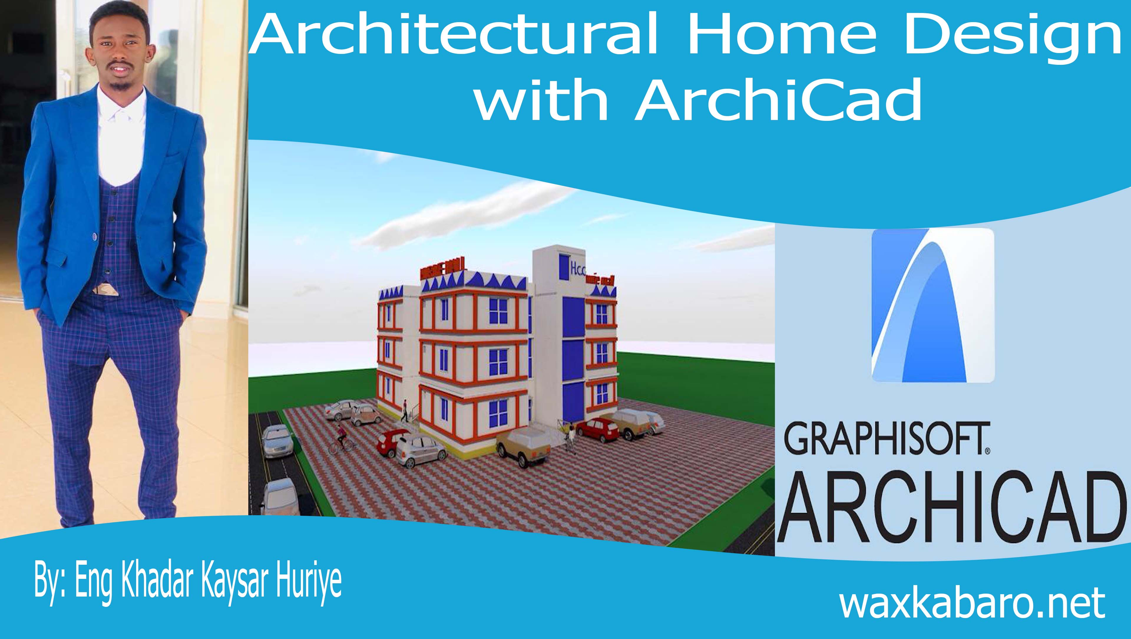 Architectural Home Design with Archicad